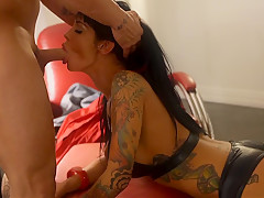 Pornstar Angelina Valentine fucking me for money