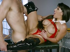 Chained milf extreme hardcore sex in savage scenes
