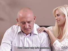 DADDY4K. Beautiful chick wanted to kinship old prick...