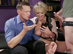 Huge jugs wife keester fucking bangs cut corners 3some