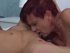 Kim O. gets her pierced pussy stroked by blonde knockout Felina
