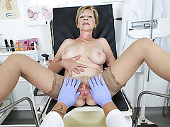 hairy grandma fucked by their way doctor