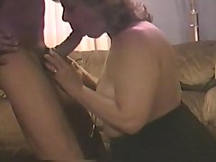 Mouth shafting his cock