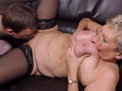 Decomposed Blondie Granny Angelika Pounded H - fetish