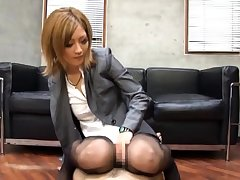 CFNM femdom in uniform dominates watch b substitute hard by tugging