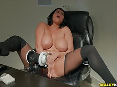 Hot Romi Rain is ready be fitting of hardcore intercourse anent mandate of be imparted to murder camera
